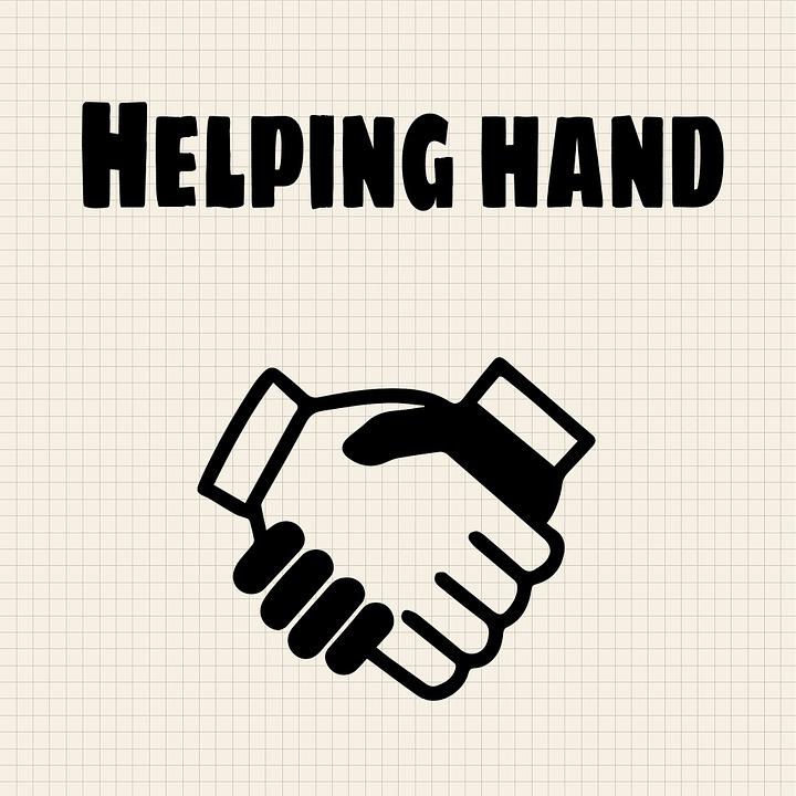 helping hand, help, handshake