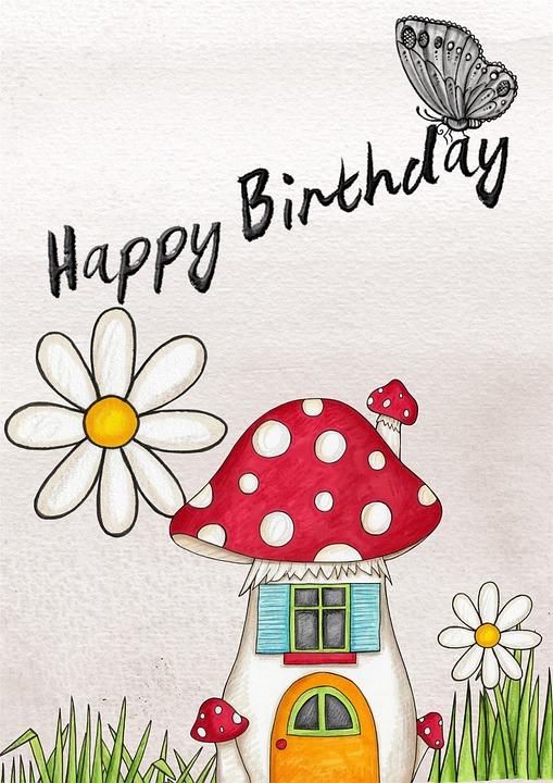 happy, birthday, card