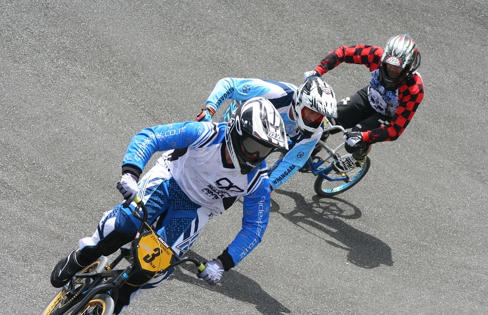 bmx, race, competition
