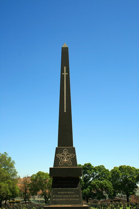 memorial, needle, cemetery
