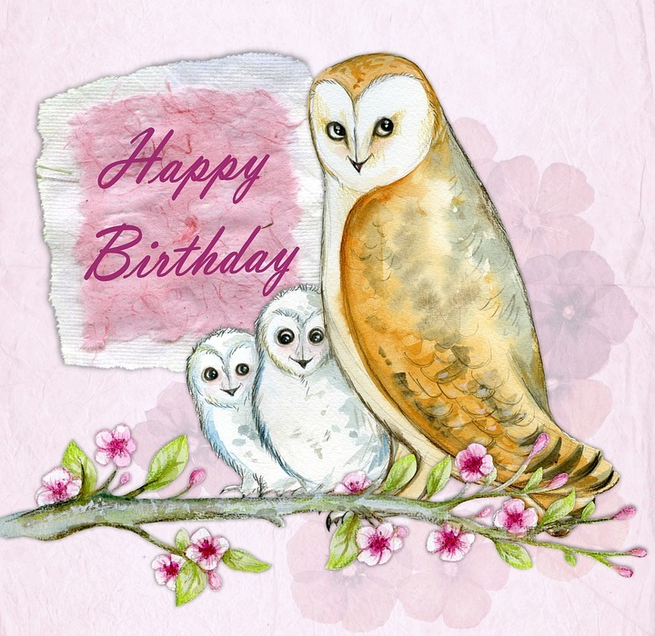 happy birthday, greeting, card