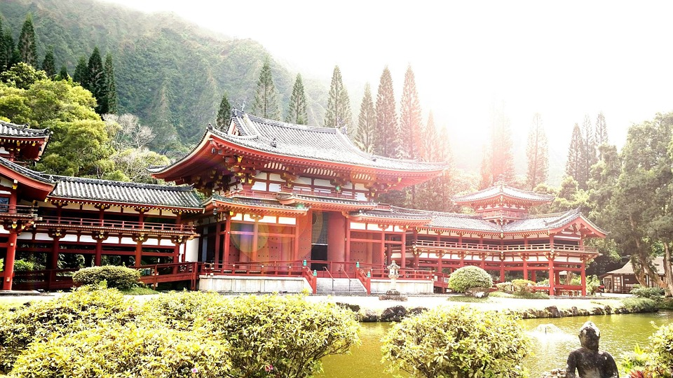 asia, temple, china