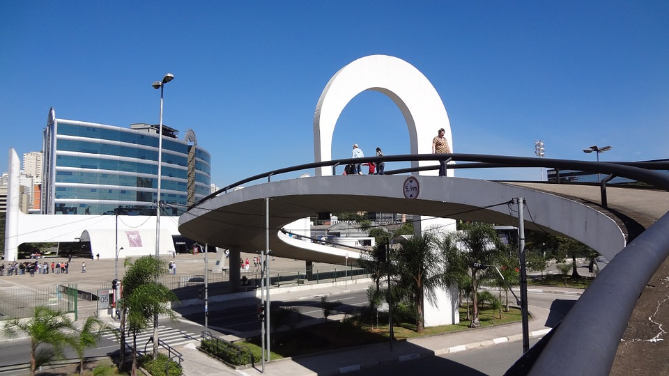 latin americal memorial, architecture, oscar niemeyer
