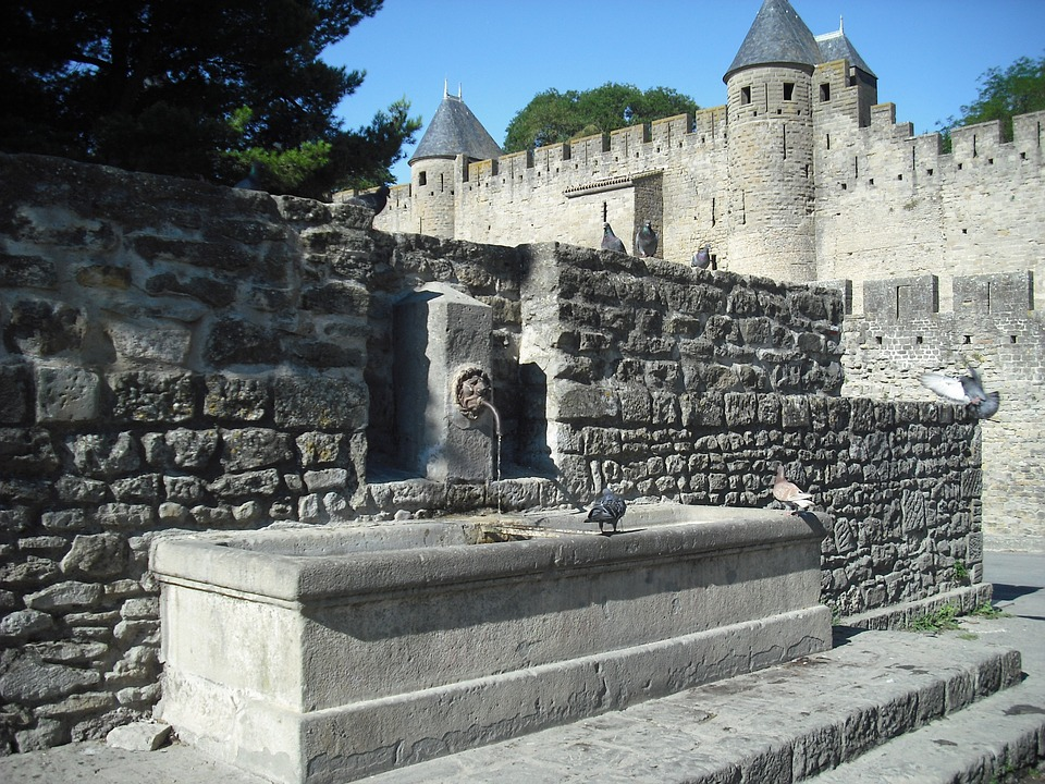 carcassonne, fortress, tourist attraction