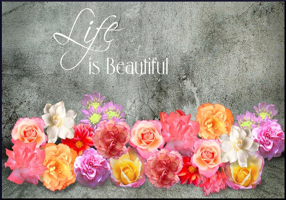 life, beautiful, retro