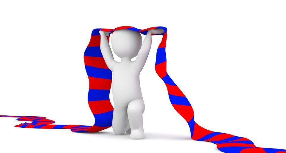 fan, scarf, football