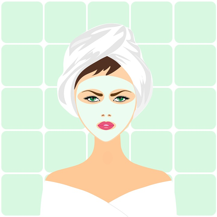 beauty treatment, face mask, spa