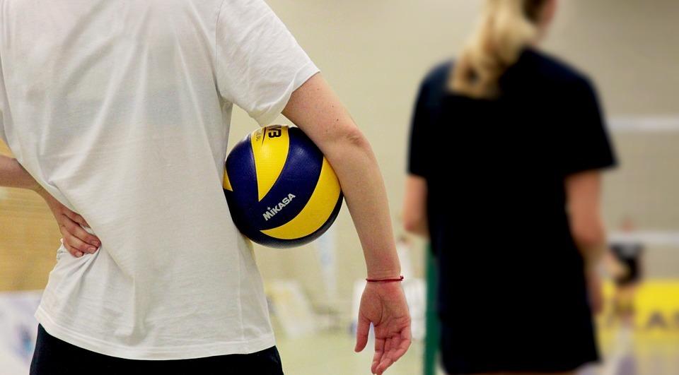 volleyball, sport, ball