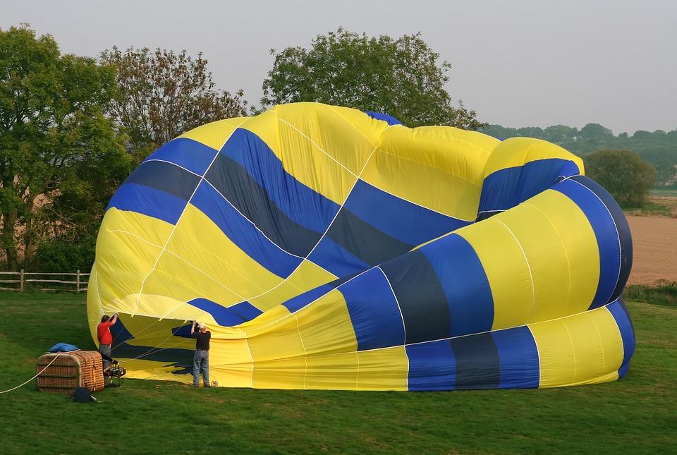 hot air balloon, aerospace, air