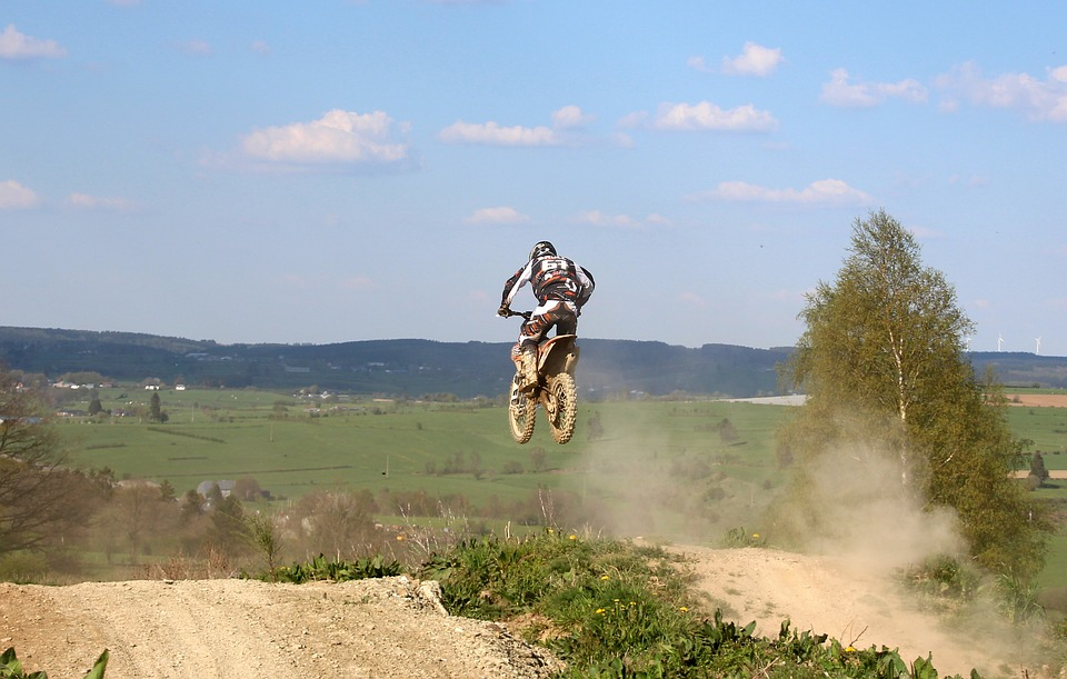 motorcycle, cross, motocross