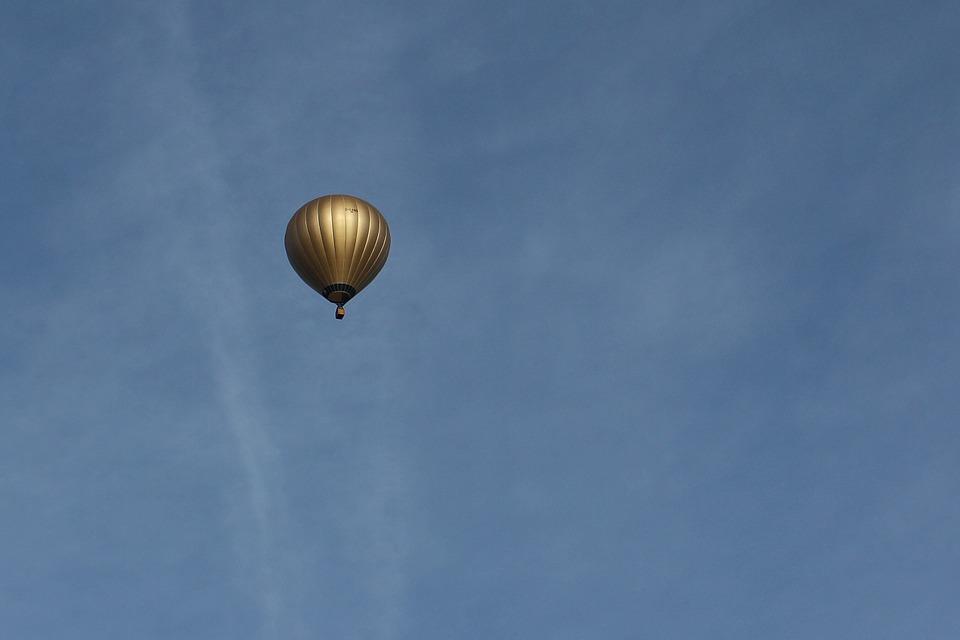 hot air balloon, captive balloon, air sports
