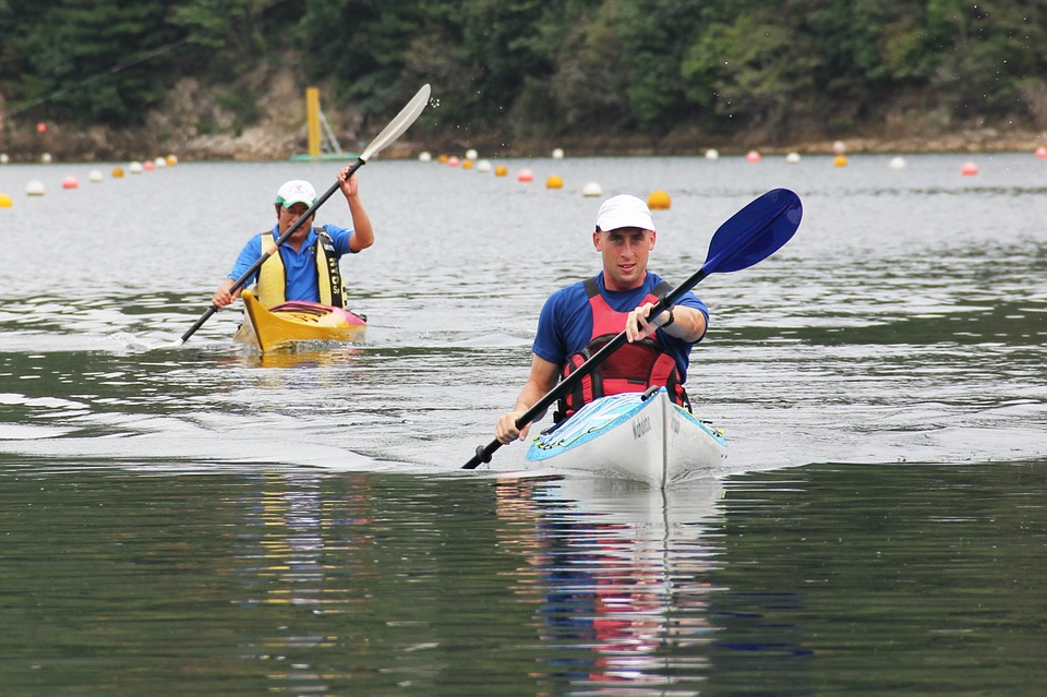 kayaking, kayaker, sport