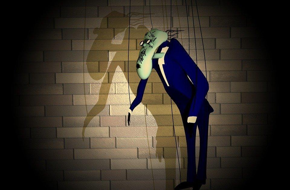 teacher, school, puppet