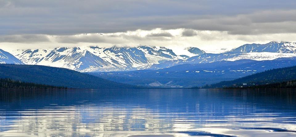 landscape, mountains, snow