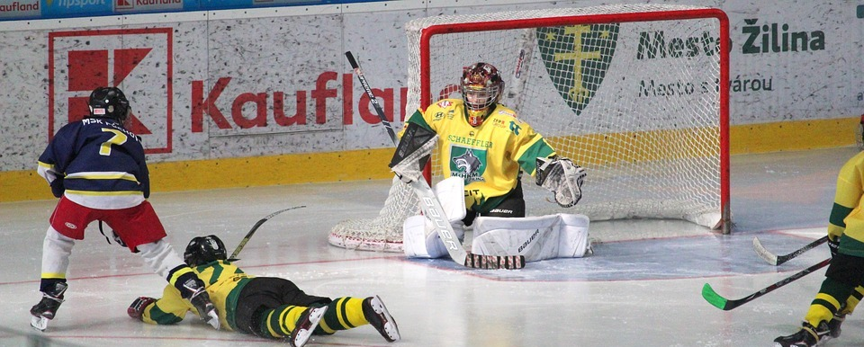 hockey, goalkeeper, action
