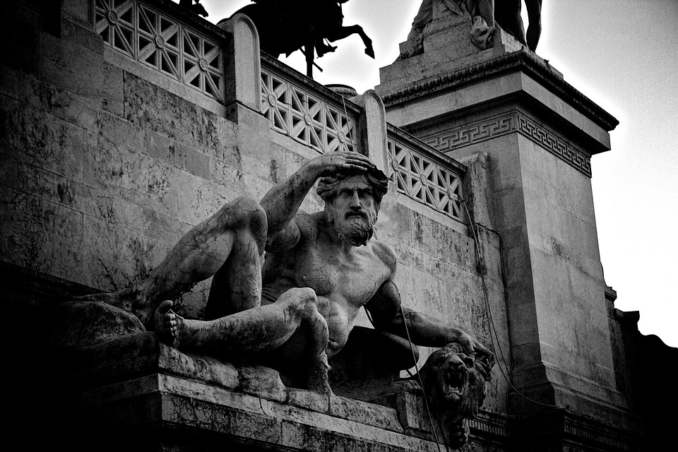 sculpture, statue, stone