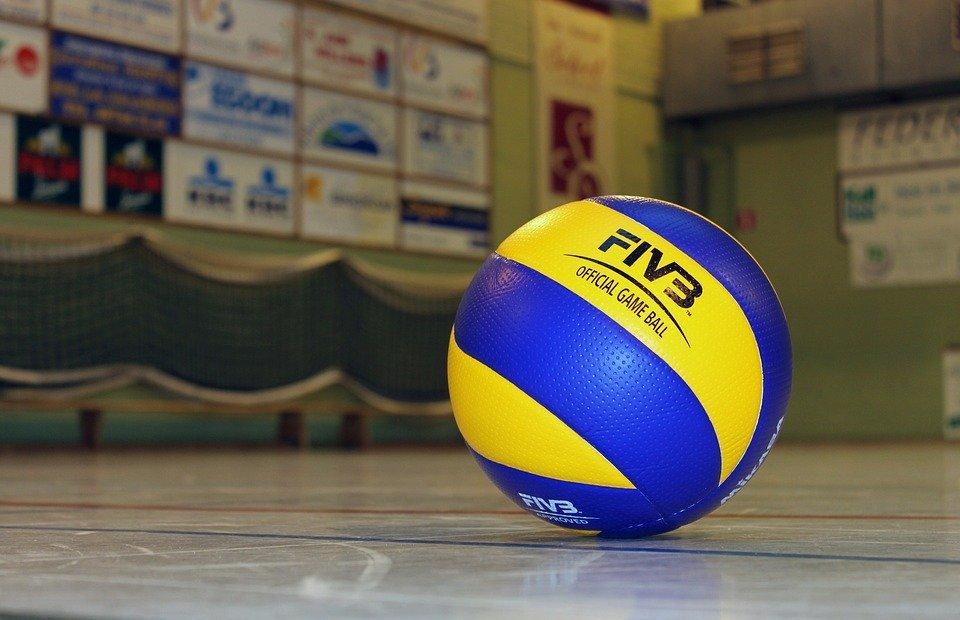 volleyball, ball, sport