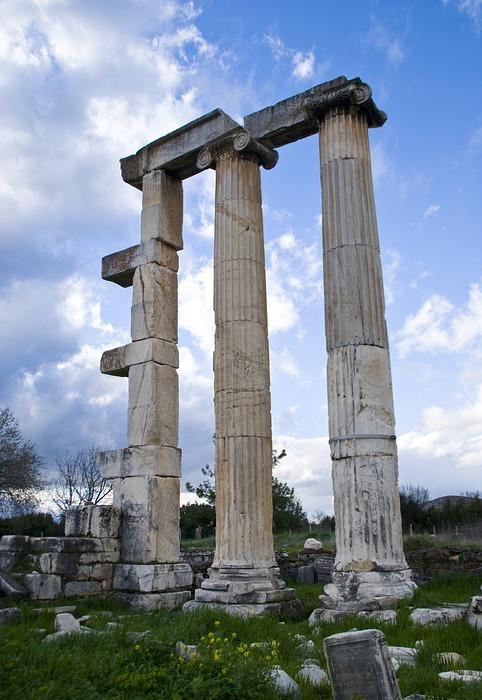 on, column, architecture