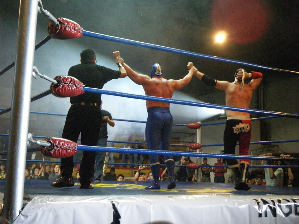 wrestling, mexico, blue demon