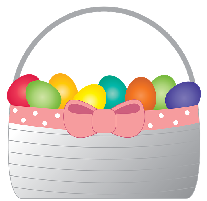 easter basket, easter, holiday