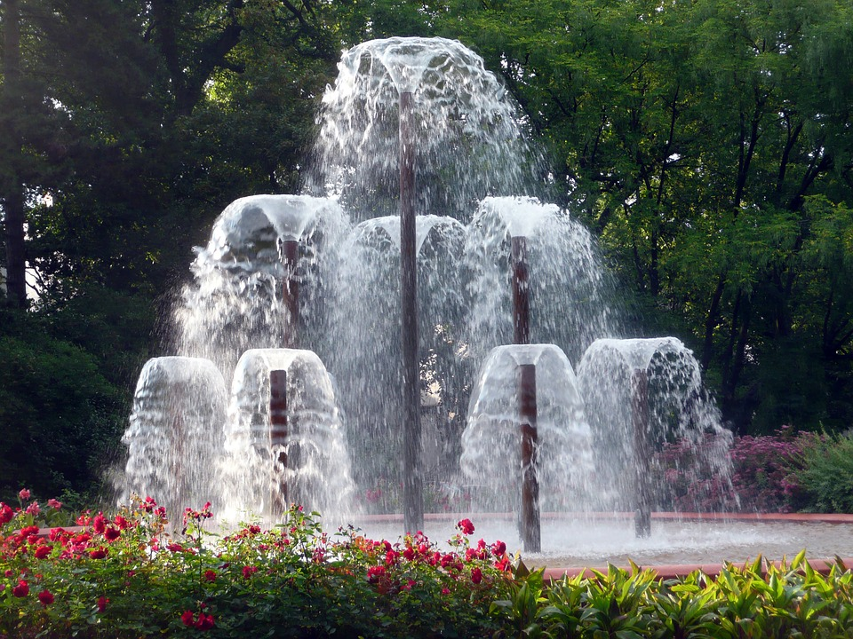 fountain, fountain fountain, water