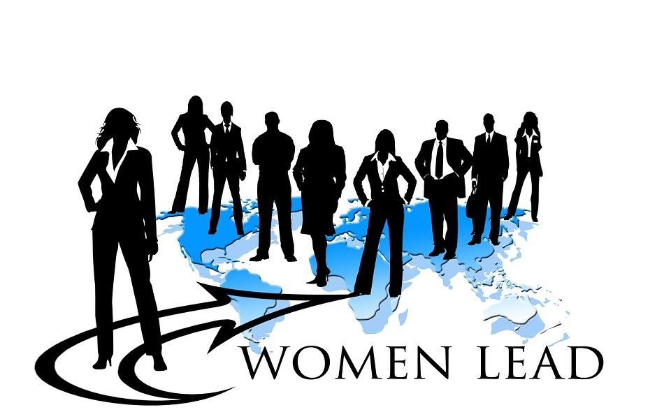 businesswoman, team leader, woman