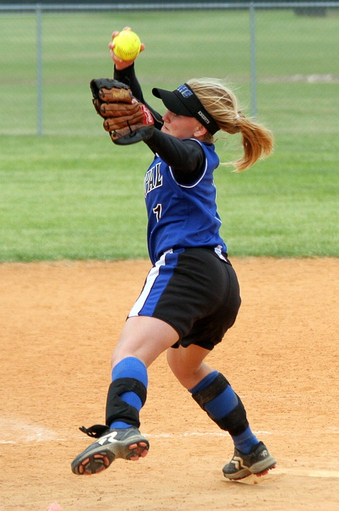 softball, pitcher, high school