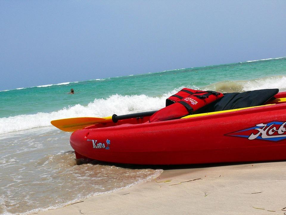 kayak, sea, sport
