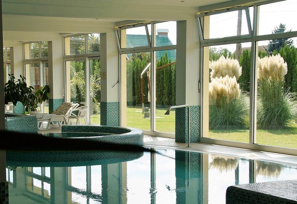spa, wellness, swimming pool