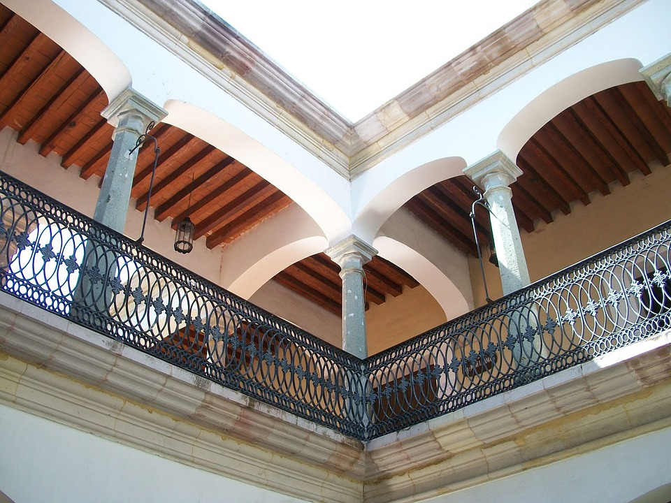 balcony, building, colonial