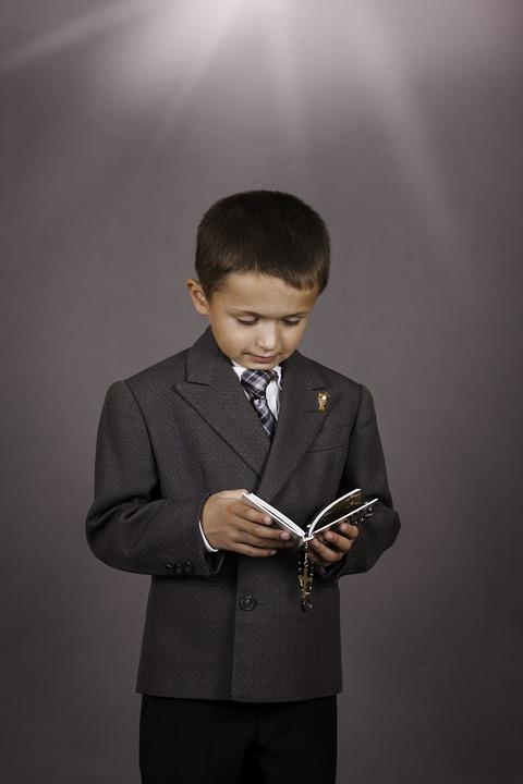 boy, catholic, first communion