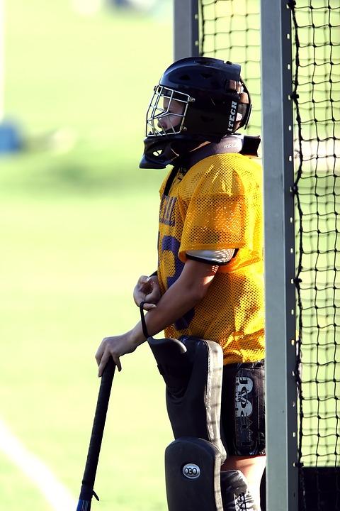 field hockey, goalie, goal tender