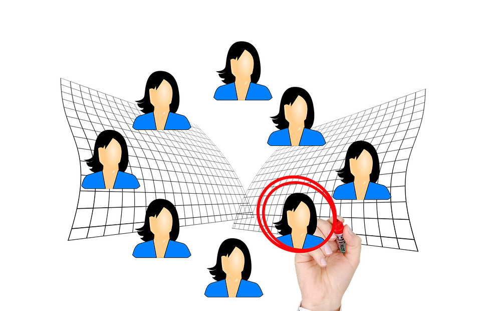 businesswoman, woman, selection