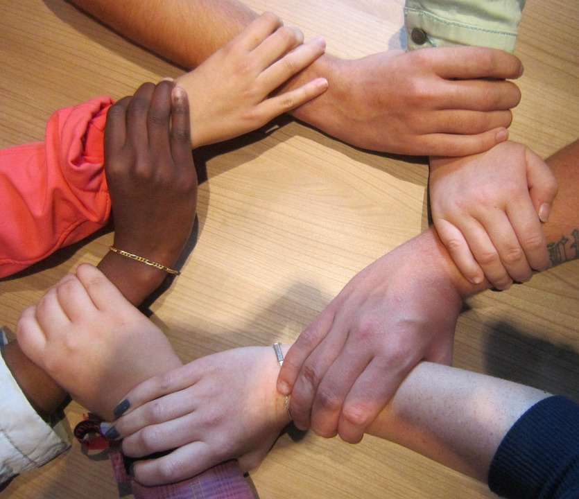 together, team, people