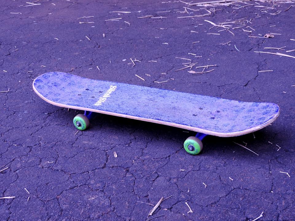 skateboard, vintage, sport