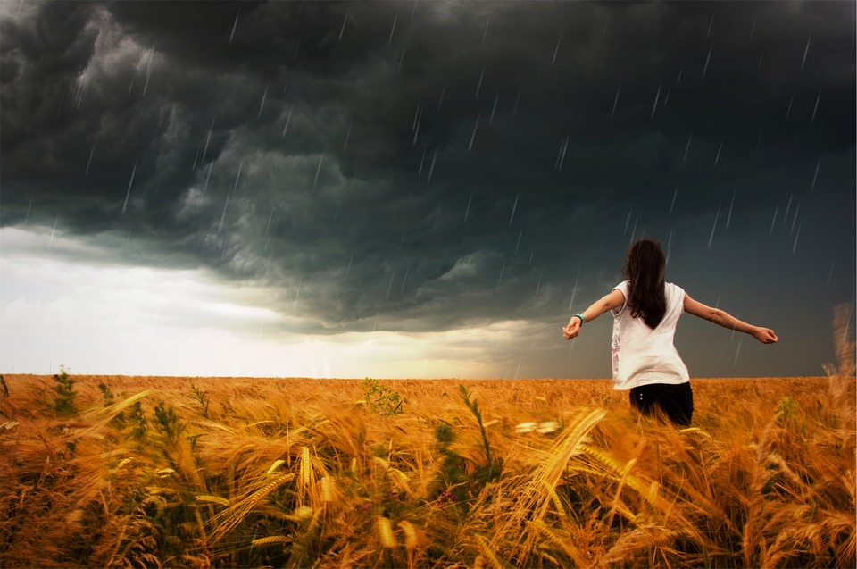 storm, raining, rain