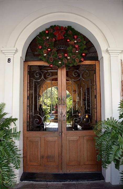 door, estate, colonial