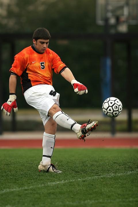 soccer, football, goalie