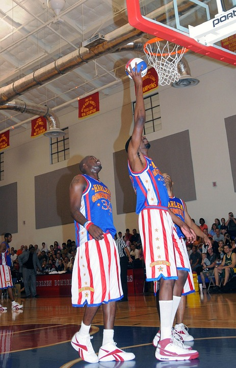 harlem globetrotters, basketball, performance