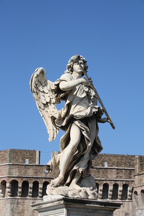rome, statue, italy