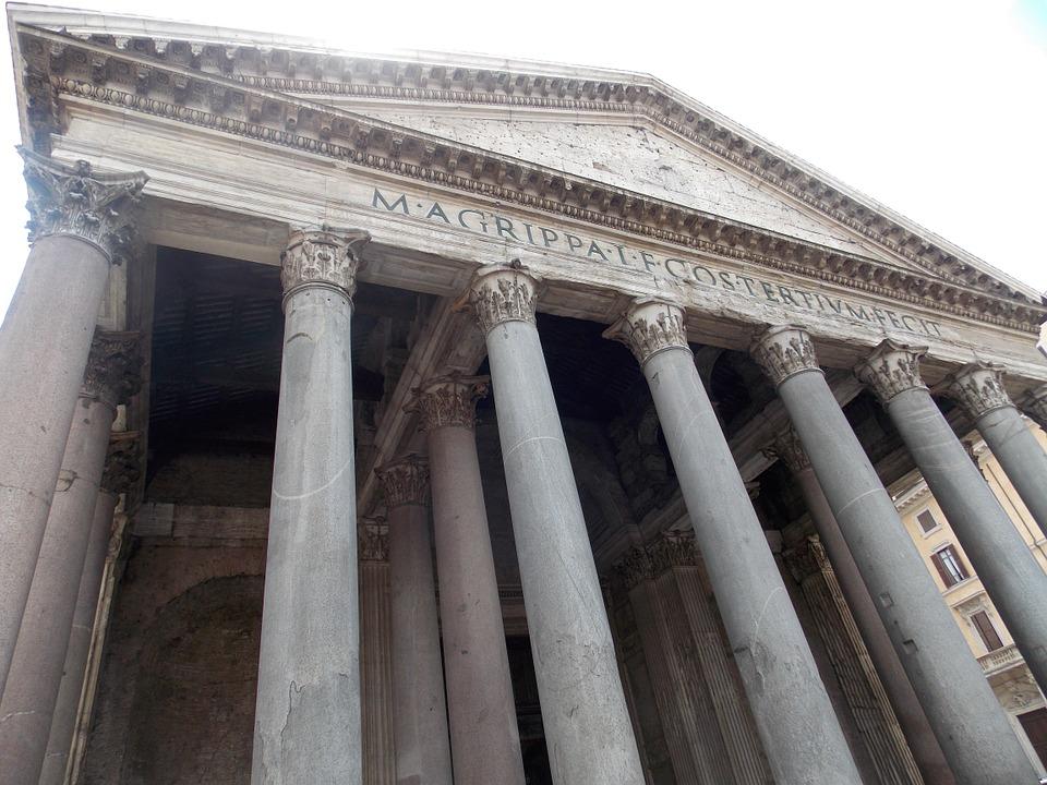 pantheon, italy, rome