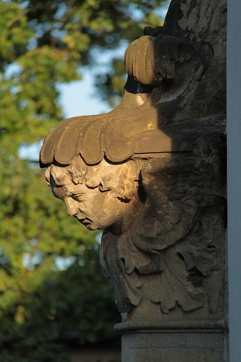 old cemetery, dresden, catholic
