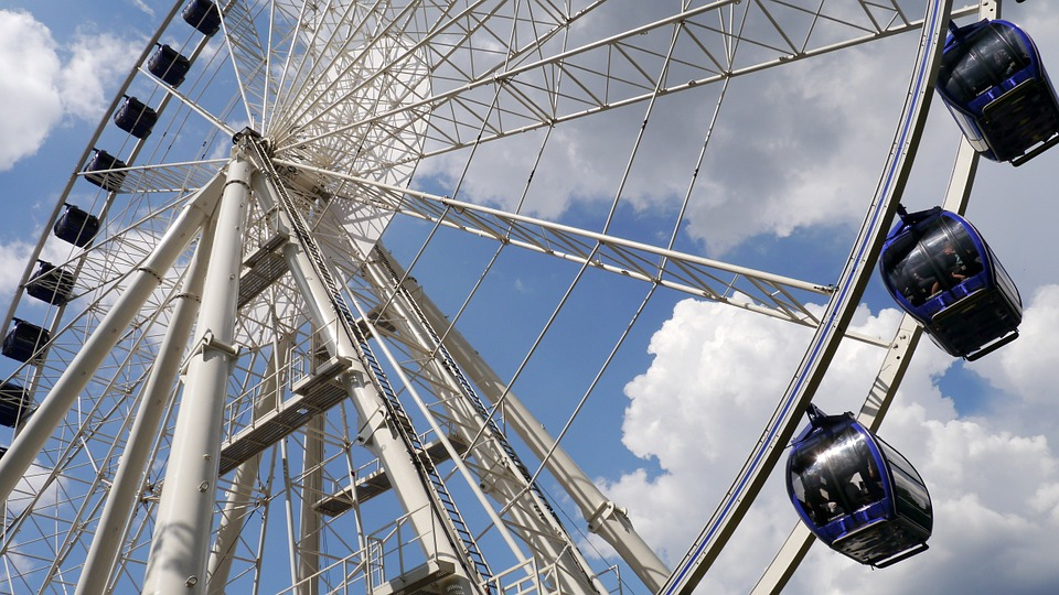 budapest, giant ferris wheel, tourist attractions