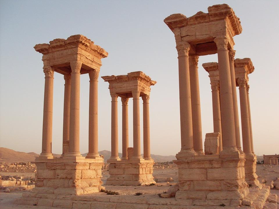 palmyra, rome, syria