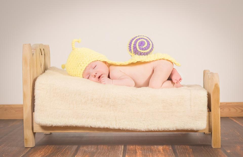 baby, sleep, small child