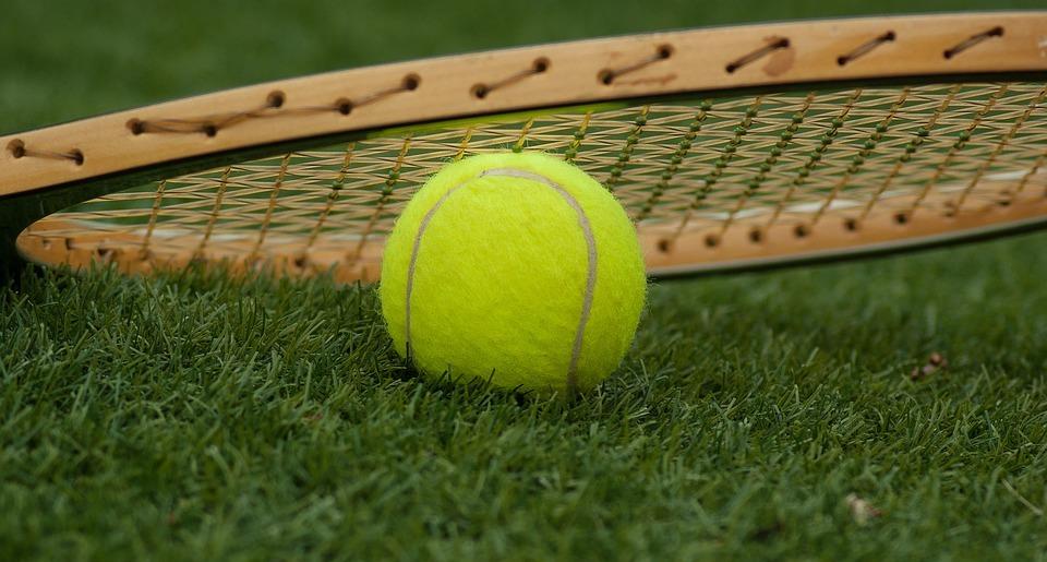 tennis ball, racket, tennis