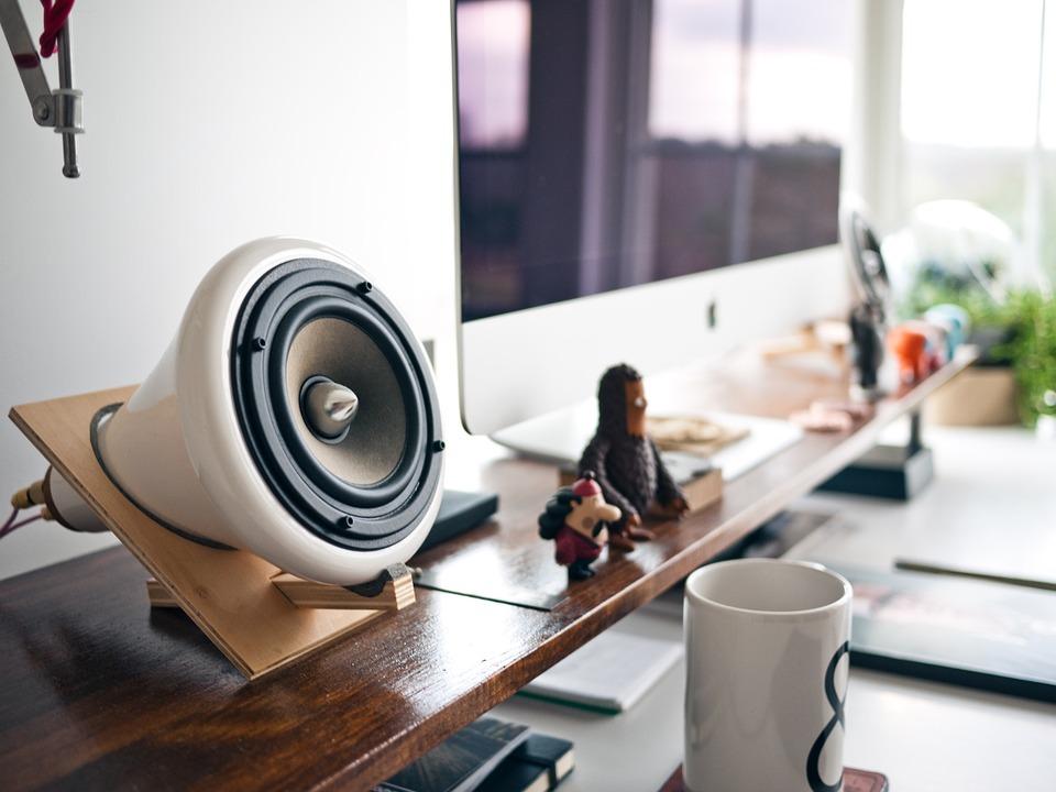 speaker, sound, music
