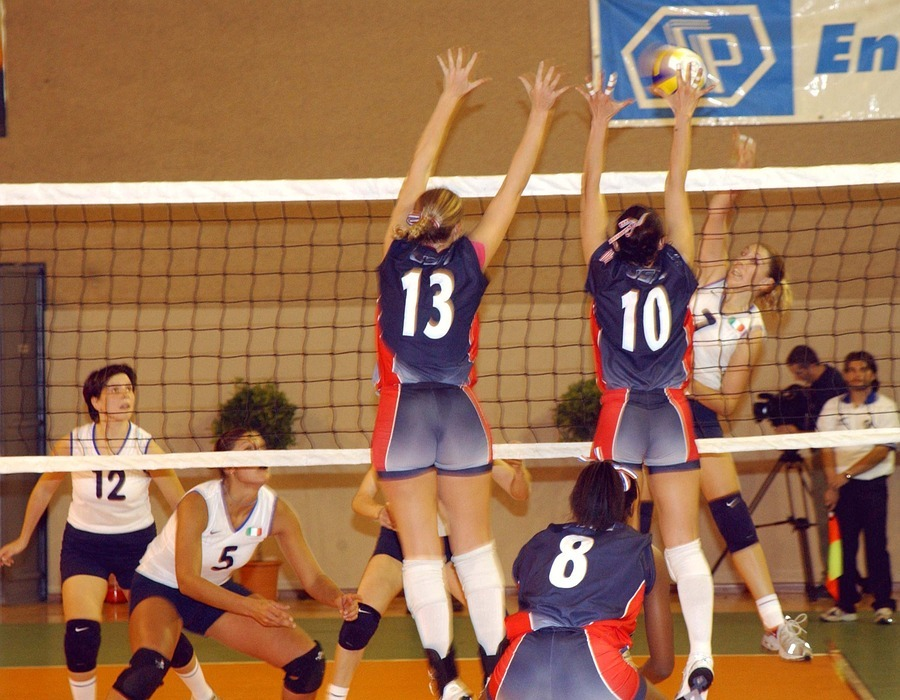 volleyball, women, team