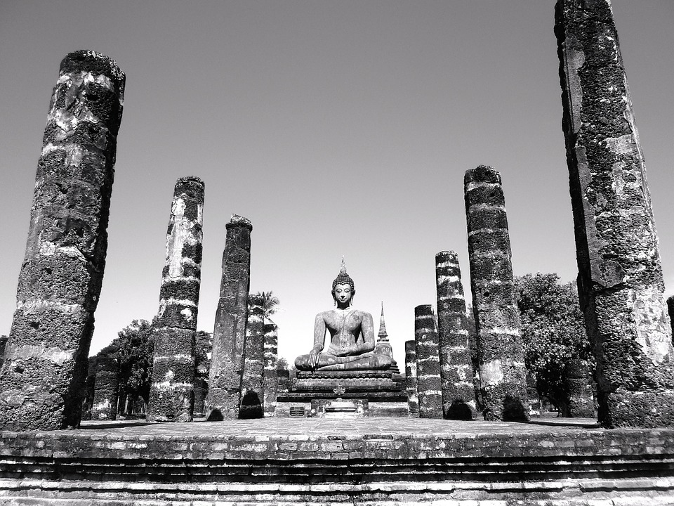 building, ancient, temple