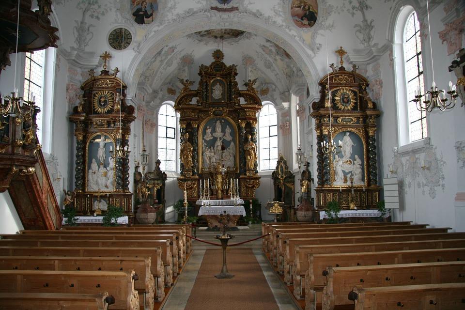 church, germany, bavaria